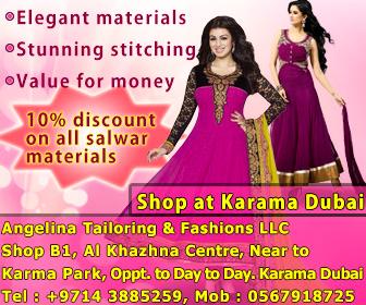 Angelina Tailoring & Fashions LLC- Karama- Dubai, UAE