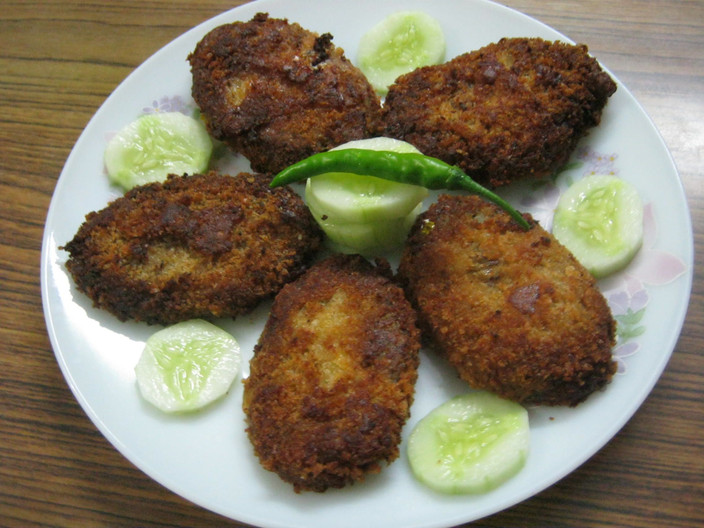 Chicken cutlet recipe kerala style chicken cutlet forumfinder Images