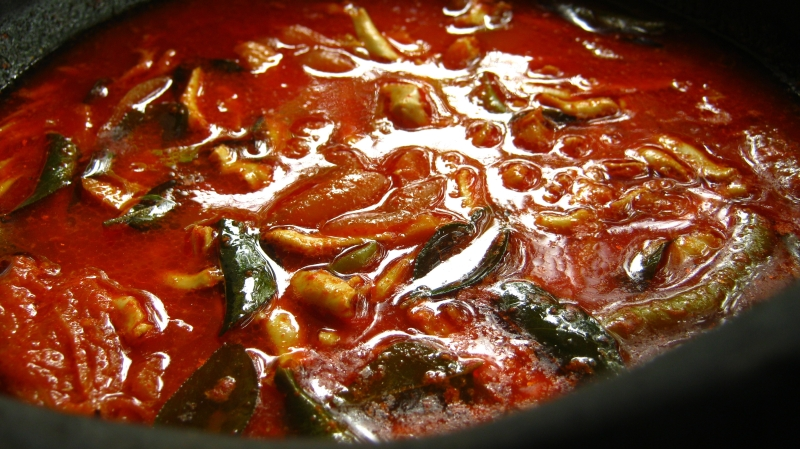 Mulakitta Kozhuva Fish Curry Anchovies Fish In Red Chilly Fish Curry