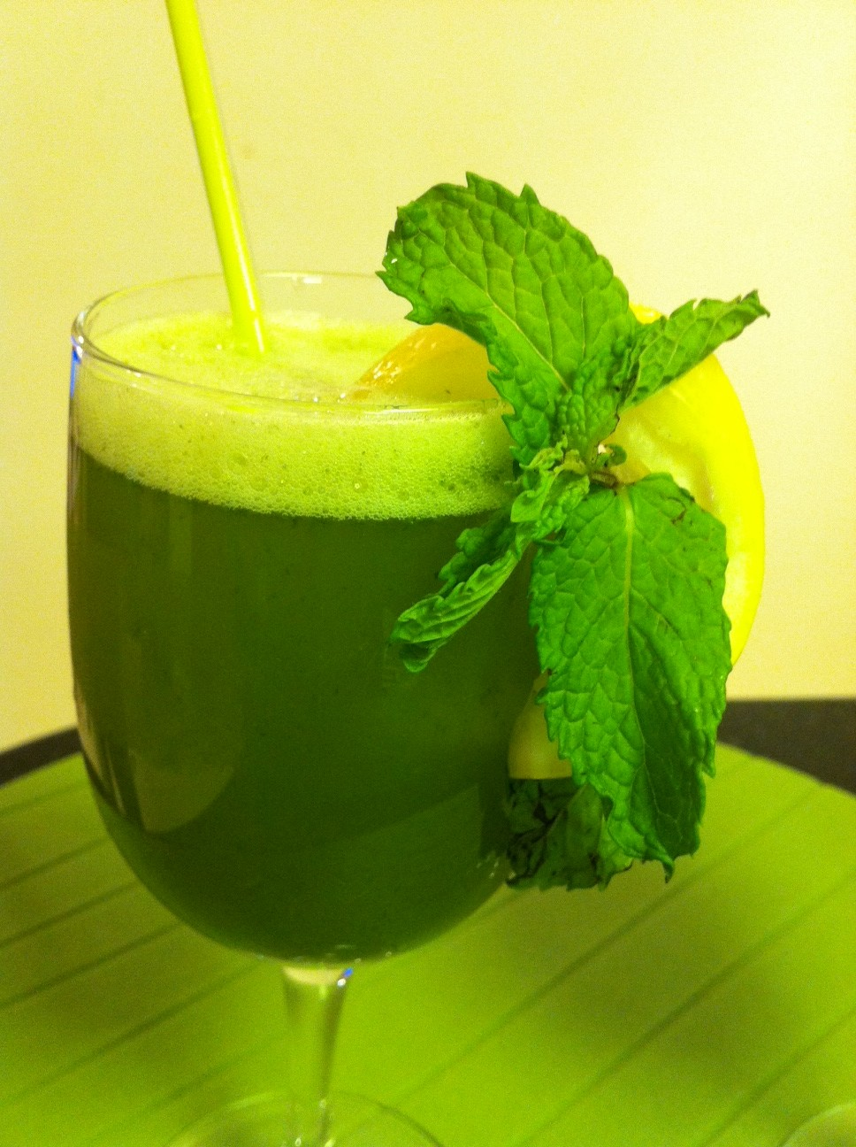 Lemon Mint Cooler Refreshing Drink