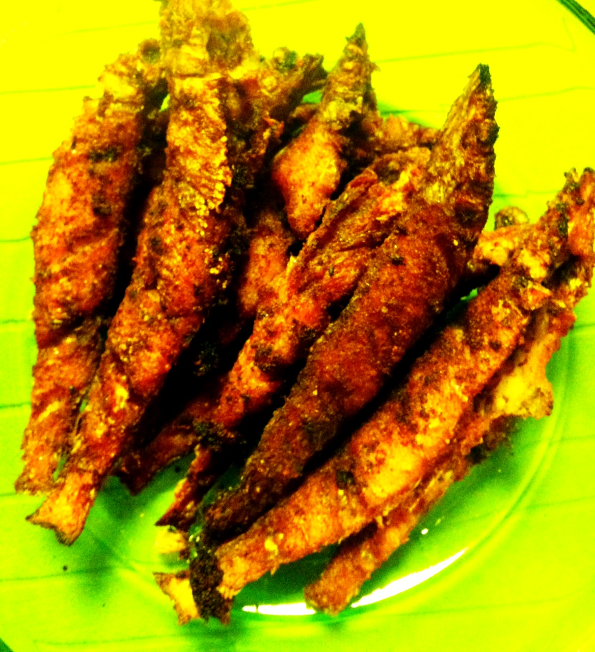 Spicy fish fry recipe kerala style meen porichathu meen fry for Fish fry recipe indian