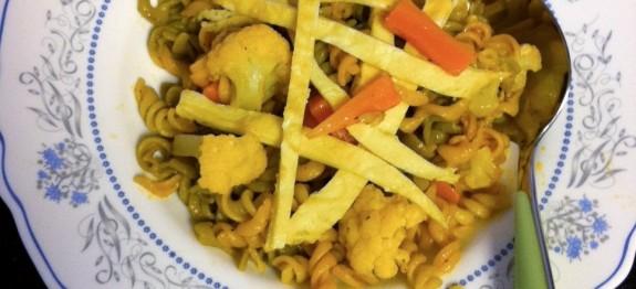 Veg and Egg Pasta