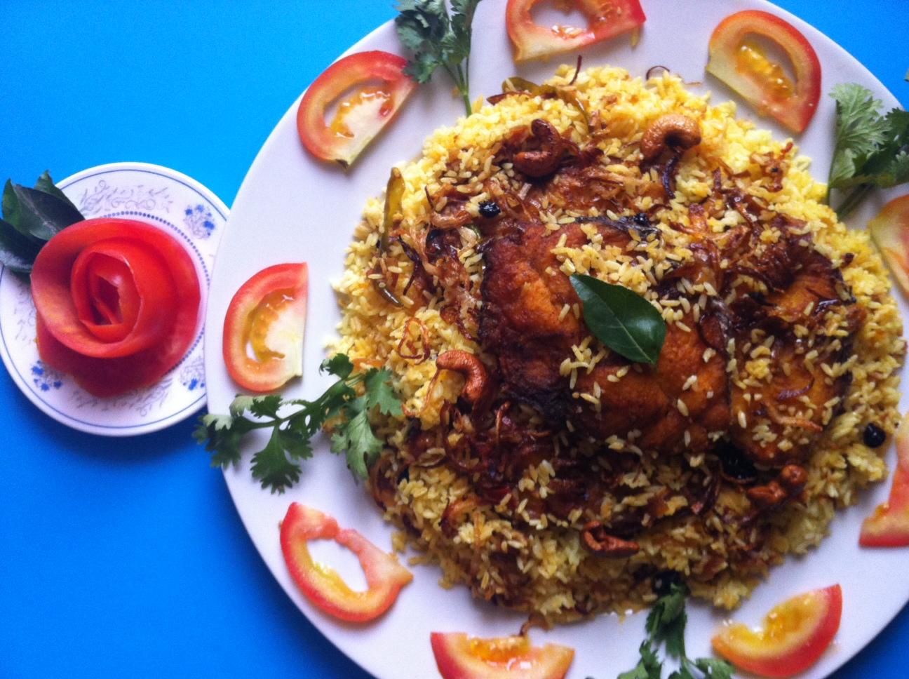 Fish Biriyani Recipe Kerala Style Meen Biriyani മീൻ ബിരിയാണി