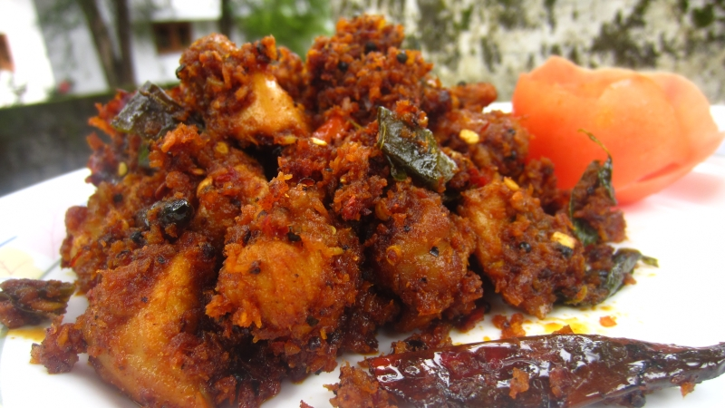 Chicken Fry Chammanthi Recipe Kerala Style Chicken Fry Chutney Recipe