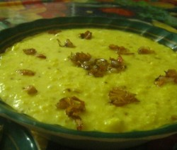 Cumin Flavour Rice Soup