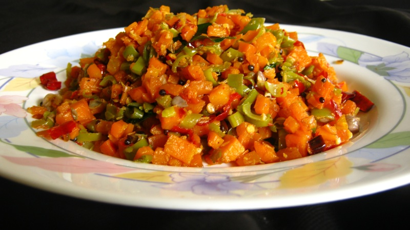 Stir fried carrot and beans in grated coconut carrot beans thoran stir fried carrot and beans in grated coconut carrot beans thoran kerala style thoran forumfinder Image collections