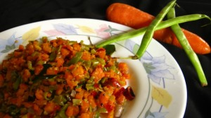 Carrot Beans Thoran Recipe / Delicious Dish
