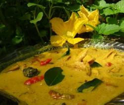 Green Mango Fish Curry