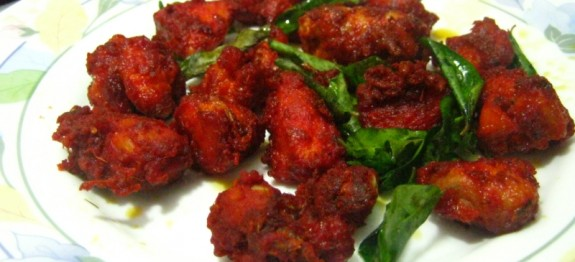 Thattukada Chicken Fry