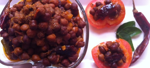 Brown Chickpea Curry