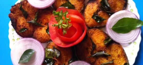 Kerala Style Fish Fry