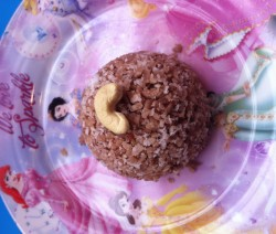 Sweet Rice Flakes with Coconut grated