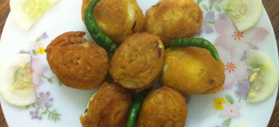 Egg Bajji / Delicious Snack Recipe