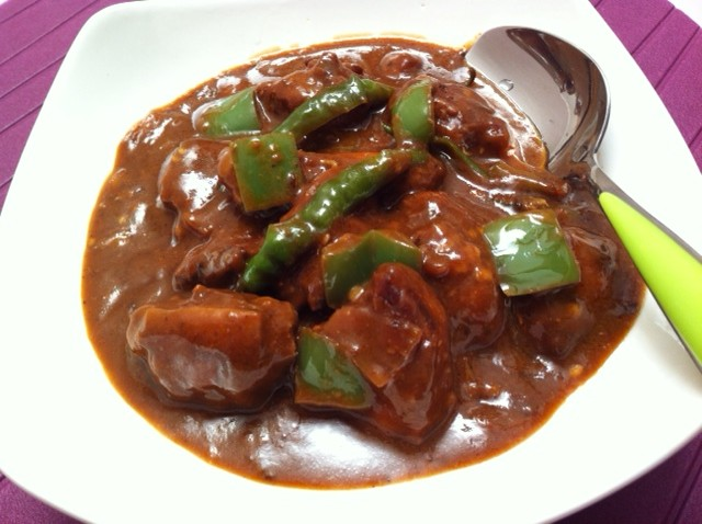 Chicken Manchurian with Gravy