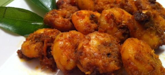 Prawn Fry Recipe Chemmeen Porichathu Kerala Recipe