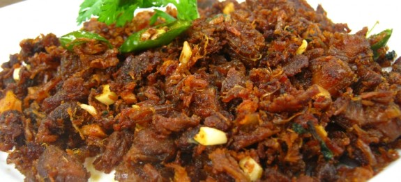 Beef Dry Fry In Salt and Pepper