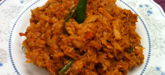 Spicy Tuna Fish Masala