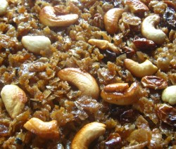 Jaggery Candied Poha