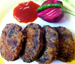 Easy Beetroot Cutlet