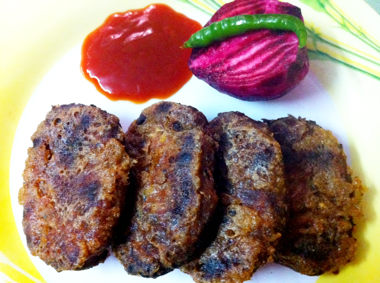 Beetroot cutlet vegetable cutlet healthy meal forumfinder Image collections