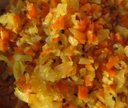 Carrot with Cabbage Stir Fry