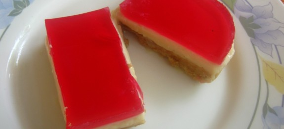 Christmas Jelly Slice