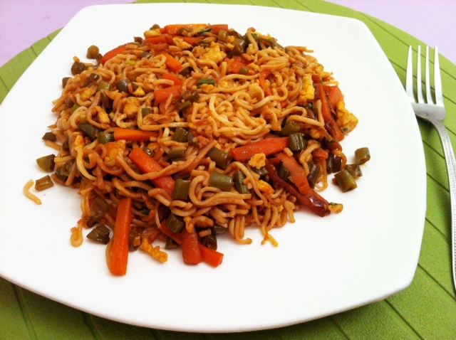 Vegetable Egg Noodles Stir Fry Recipe Easy To Make Recipes