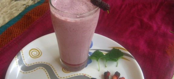 Mulberry Milkshake