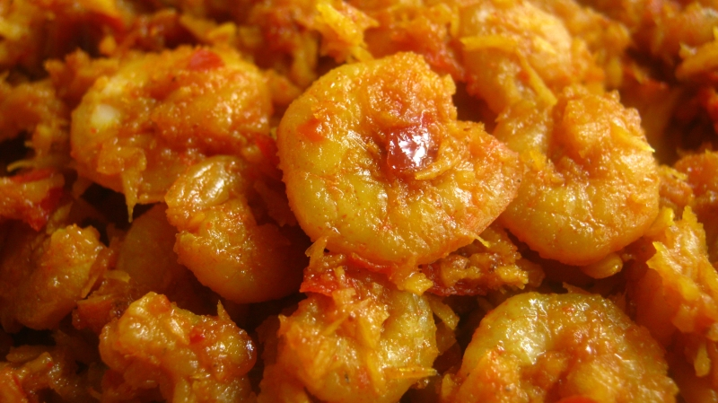 Prawn Patia (Indian Sweet And Spicy Shrimp) Recipes — Dishmaps