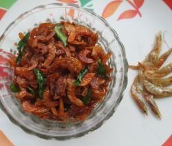 Dry Prawn Fry Recipe