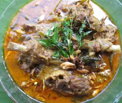 Duck Curry with Coconut Milk