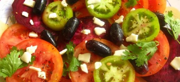 Tomato Beetroot Salad