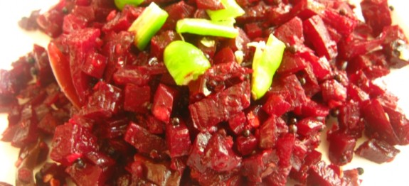 Beetroot Stir Fry