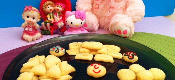 Sugar Cookies Made in Microwave Oven