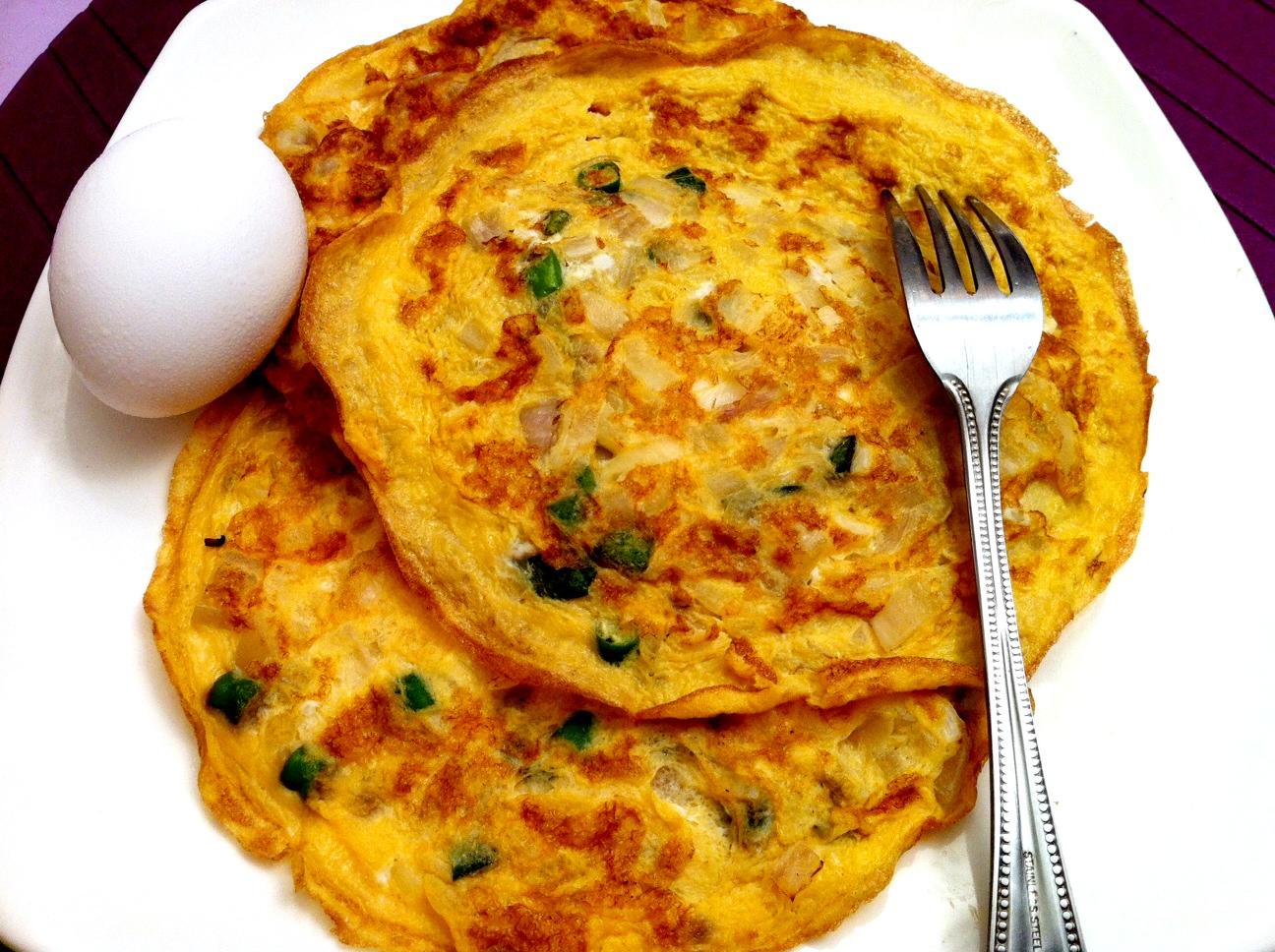 ... omelette eat masala omelette placed sandi indian omelet indian omelet