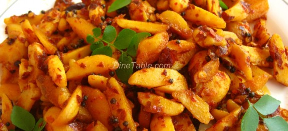 Jackfruit Seed Stir Fry