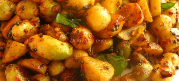 Koorka Mezhukkupuratti Recipe / Easy Dish