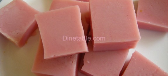 Pink Square Jelly