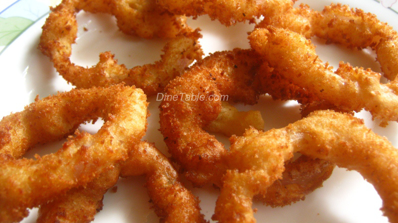 Onion rings deep fried onion rings snack recipe forumfinder Image collections