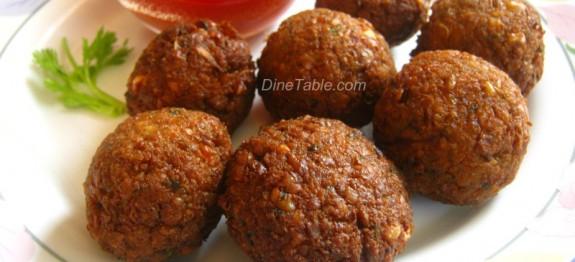 Spicy Falafel Recipe
