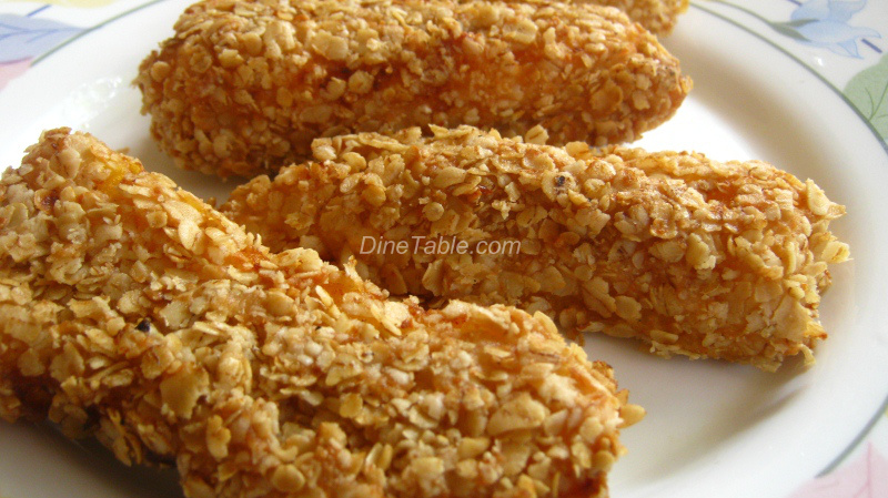 ... fried bananas granola fried bananas fried bananas drizzled with and