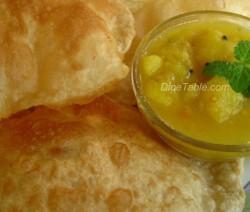 Indian Puffed Flat Bread