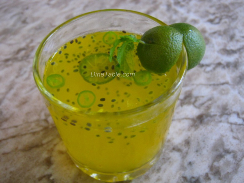 Kulki Lemon Sharbat Recipe Summer Beverage