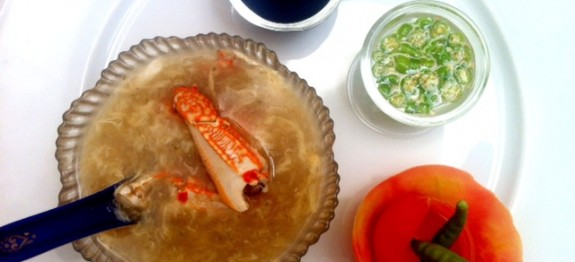 Indo-Chinese Crab Soup