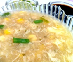 Indo-Chinese Chicken soup