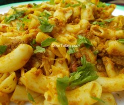 Pasta with Minced Meat..