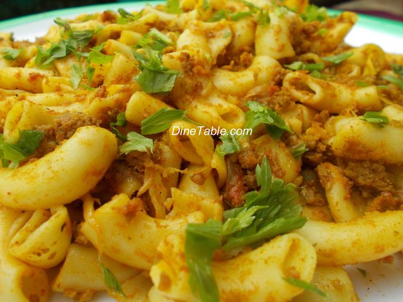 South indian spicy pasta recipes