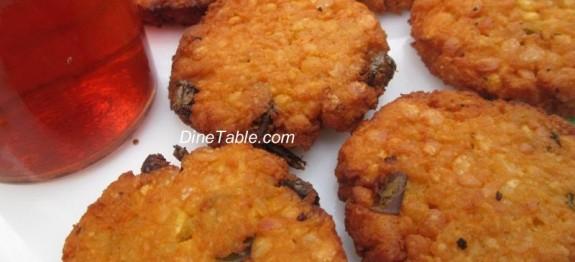 Parippu Vada / പരിപ്പുവട / Snack