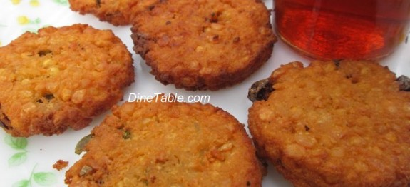Parippu Vada / പരിപ്പുവട / Delicious