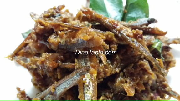 Unakka meen peera vattichadhu kerala dry fish with for Dry fish recipe